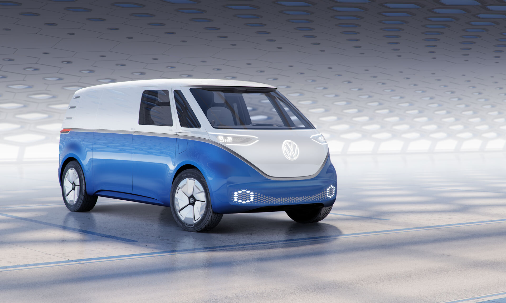 VW ID Buzz Cargo Concept Car